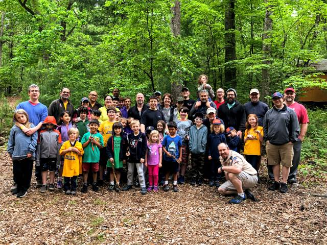 Pack 3 at camp
